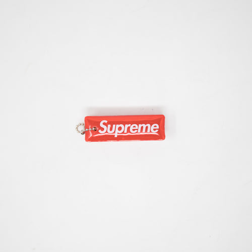 Supreme Reflective Puffy Keychain Red (USED)