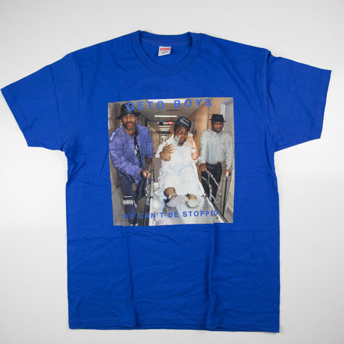 Supreme x Rap-A-Lot Records Geto Boys Tee Blue (XL / USED)