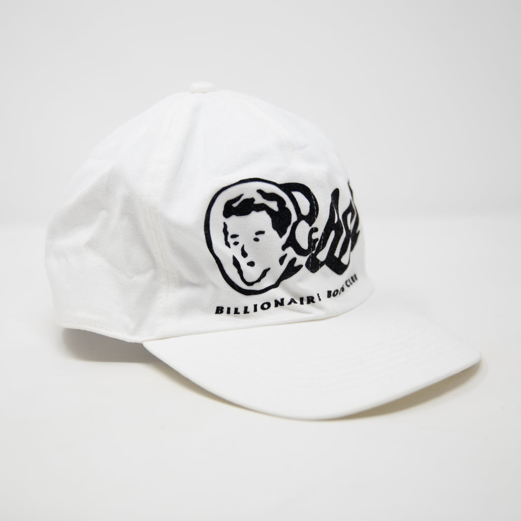Billionaire Boys Club Classic Logo Fitted Cap White (USED)