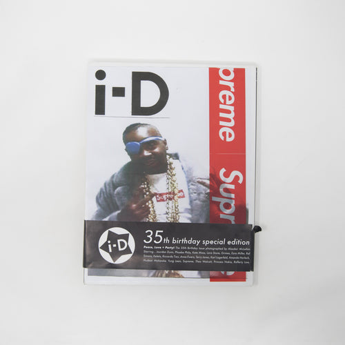I.D Magazine 35th Anniversary Special Edition Supreme Cover Ross Wilson (USED)