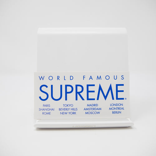 Supreme World Famous Sticker White (MINT)