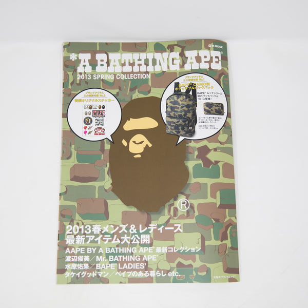 Bape Spring 2013 Collection Magazine + Sticker Sheet (USED)