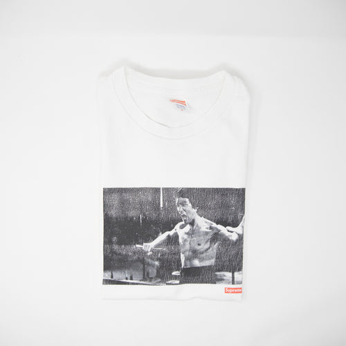Supreme x Bruce Lee Enter The Dragon Tee White (Medium / USED)