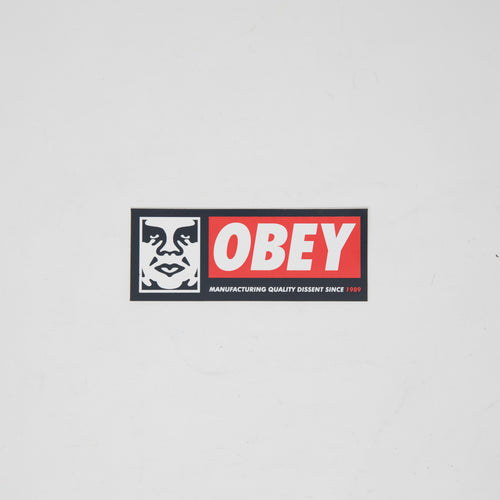 Obey Boxlogo Sticker (MINT)