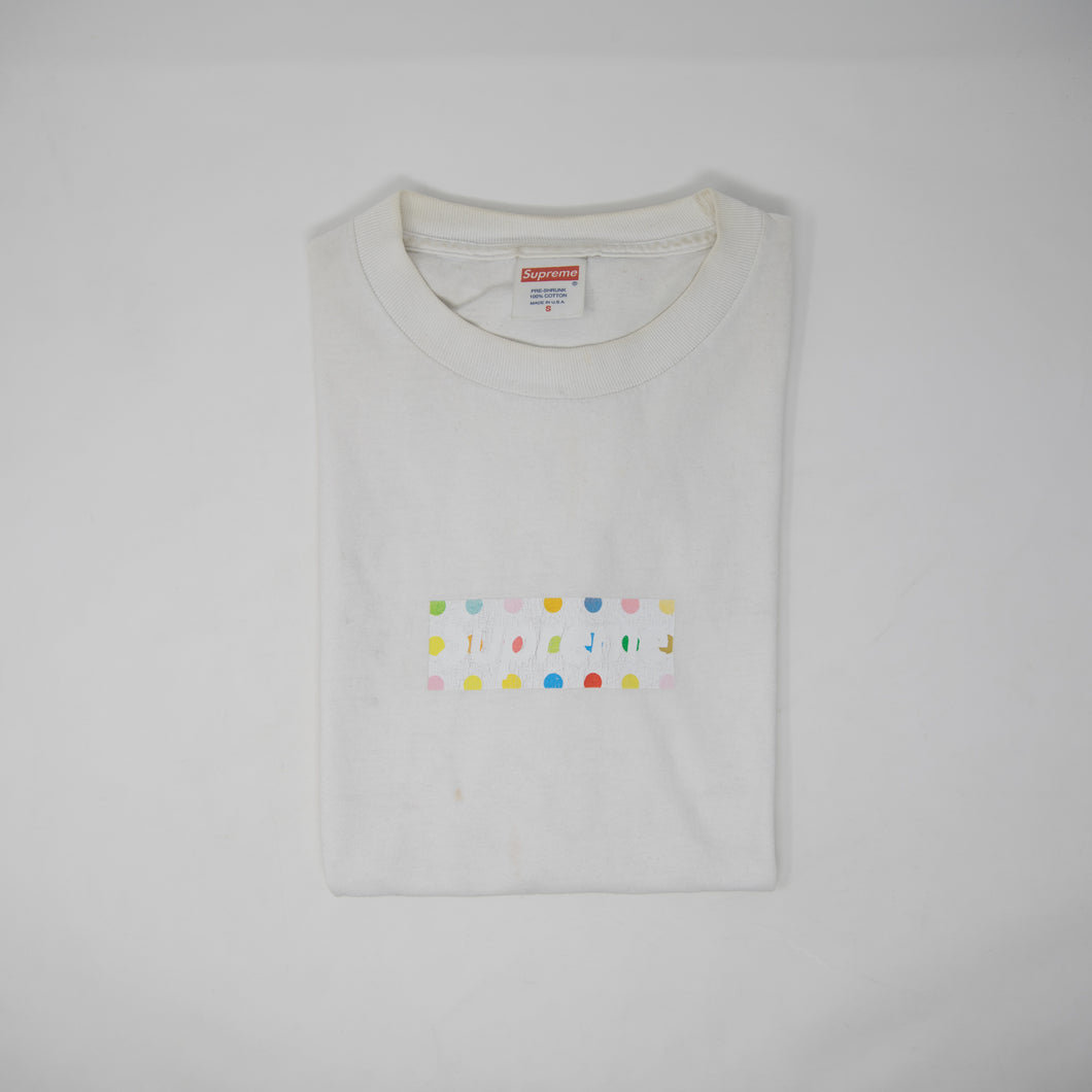 Supreme Damien Hirst Box Logo Tee (Small / USED)