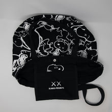 Kaws x Snoopy Tote Bag Black (USED)