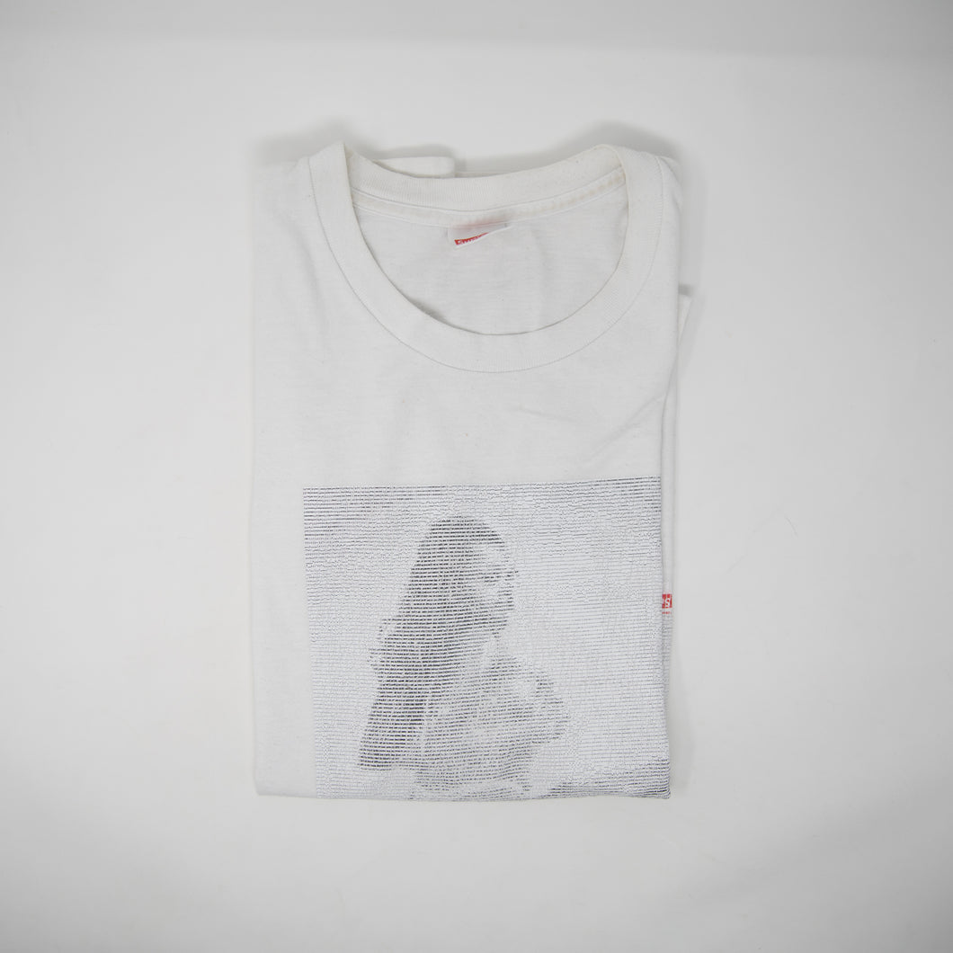 Supreme Digi Tee White (Medium / USED)