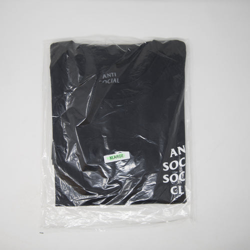 Anti Social Social Club OG Logo Tee Black (XL / NEW)