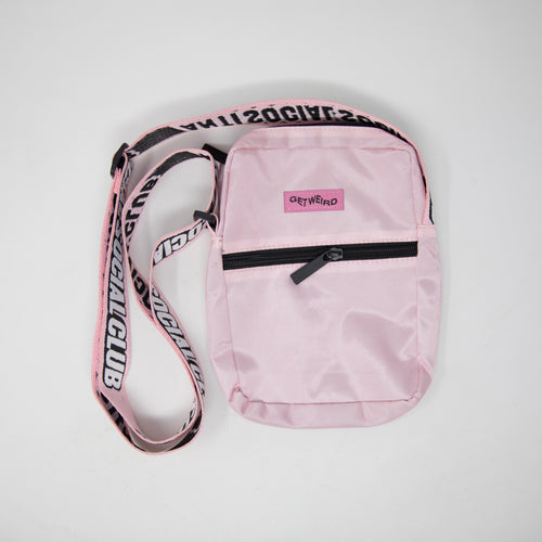 Anti Social Social Club Shoulder Bag Pink (NEW)