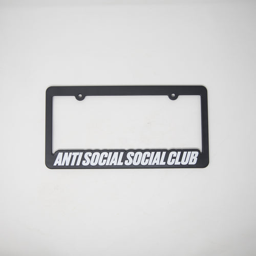 Anti Social Social Club Number Plate Frame (NEW)