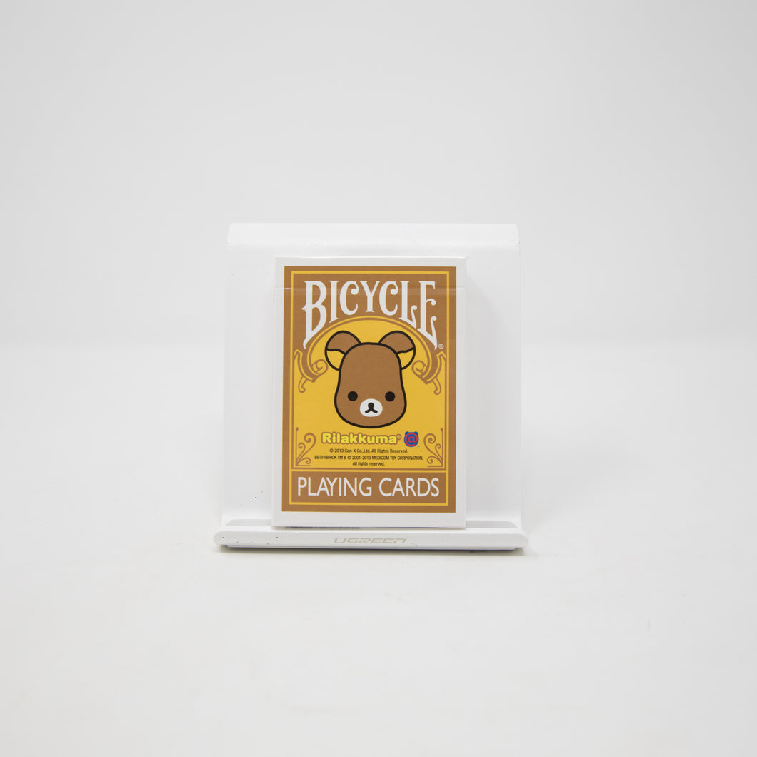 Medicom Toys Bearbrick Rilakkuma x Bicycle Playing Cards (NEW)