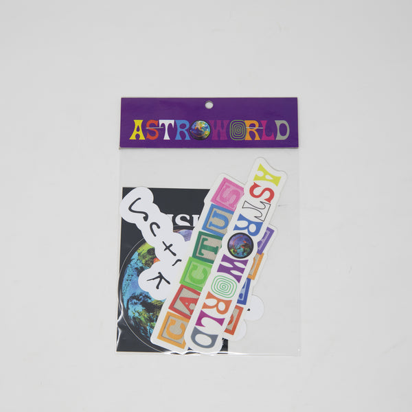 Travis Scott AstroWorld Sticker Pack (NEW)