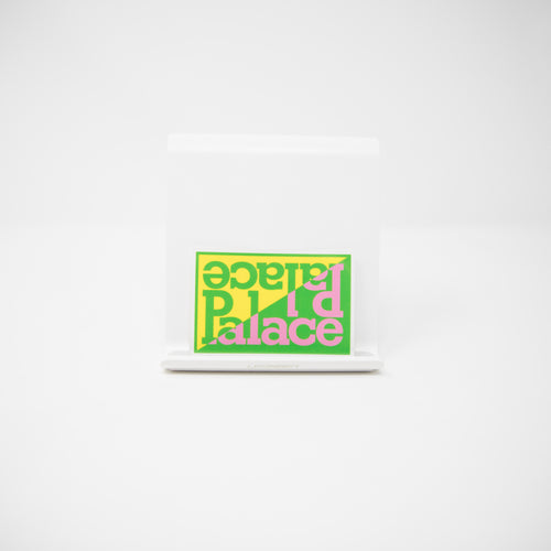 Palace Split Sticker Green (MINT)