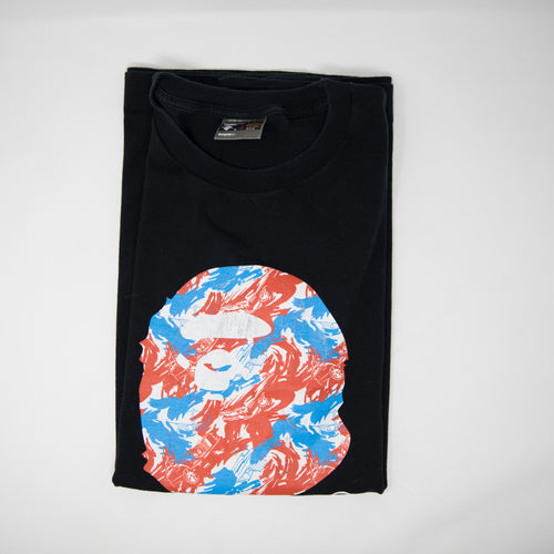 Bape Car Camo Ape Head Tee (XL / USED)