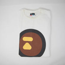 Bape Brown Round Ape Head Tee (XL / USED)