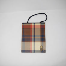 Bape Checkered Shopping Bag (USED)