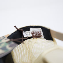 Bape Intertwined Logo Sand Camo Cap (MINT)