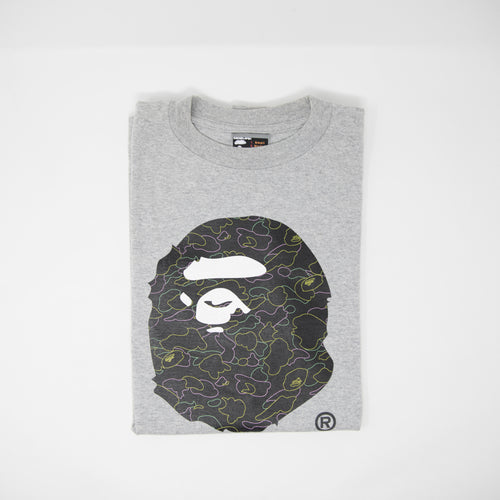 Bape x Kaws Ape Head Tee (Large / USED)