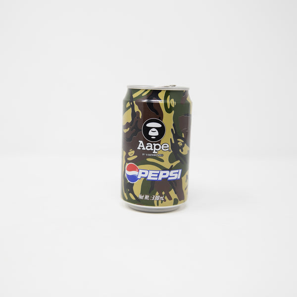 Aape By A Bathing Ape x Pepsi Green Camo Can (USED)