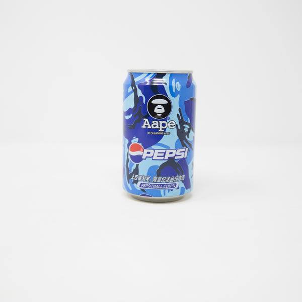 Aape By A Bathing Ape x Pepsi Blue Camo Can (USED)