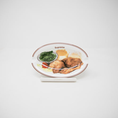 Supreme Chicken Dinner Plate Ashtray (NEW)