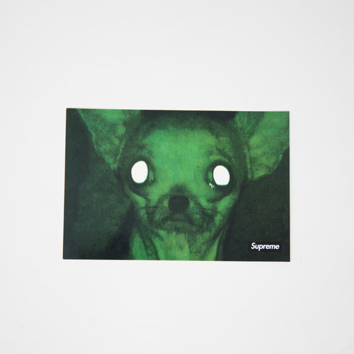 Supreme x Chris Cunningham Chihuahua Sticker (MINT)