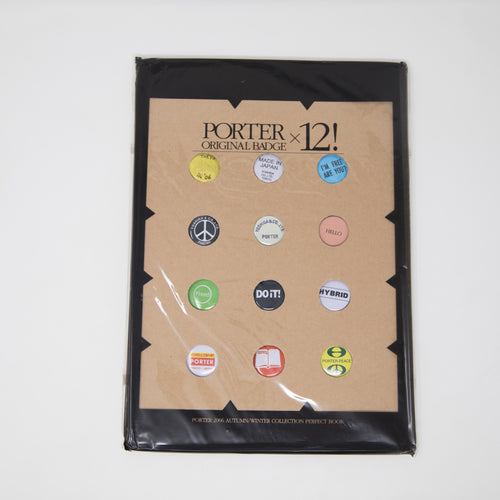 Head Porter Pin Badge Set (MINT)