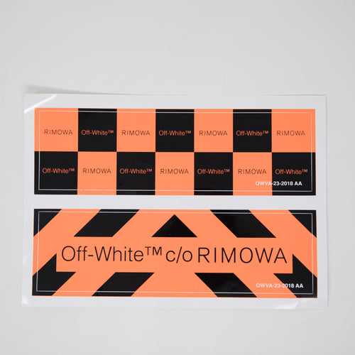 Off White x Rimowa Sticker (MINT)
