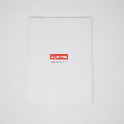 Supreme Fall / Winter 2012 Lookbook (USED)