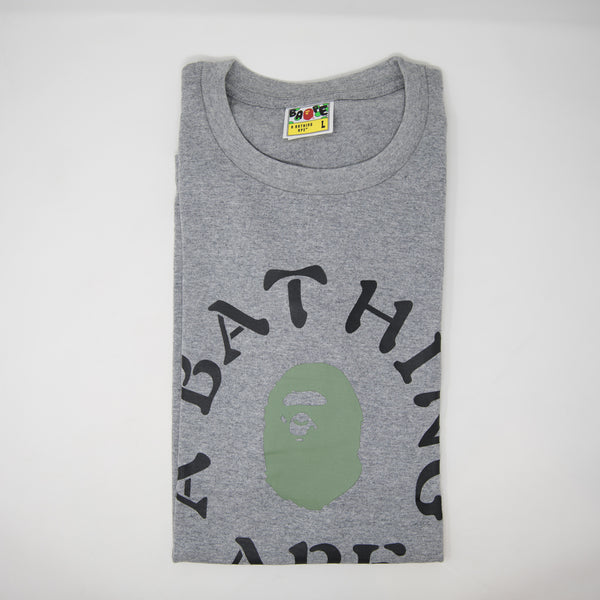 Bape Surround College Tee (Large / NEW)