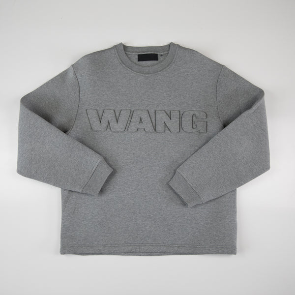 Alexander Wang x H&M Sweater Grey (Large / USED)