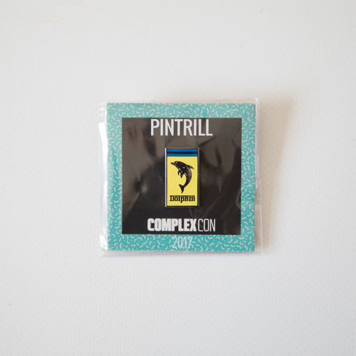Pink Dolphin x Pintrill Ferrari Pin ComplexCon Exclusive (NEW)