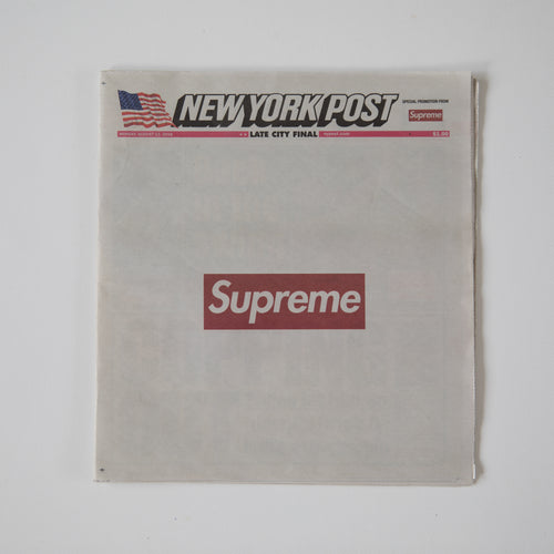 Supreme New York Post Newspaper (MINT)