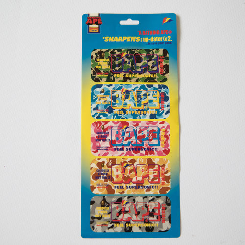 Bape Feel Supersonic Sticker Set (MINT)