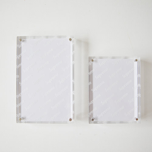 Supreme Acrylic Photo Frame [Set of 2] (NEW)