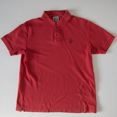 Billionaire Boys Club Astronaut Polo Shirt Red (Large / USED)