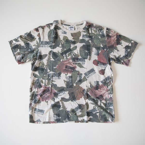 Billionaire Boys Club Floral Logo Tee (Large / USED)