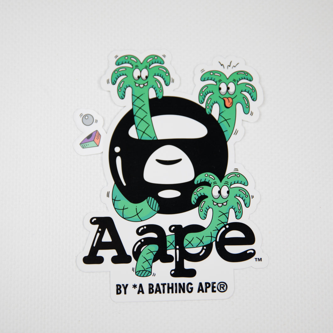Aape x Steven Harrington Logo Sticker (MINT)