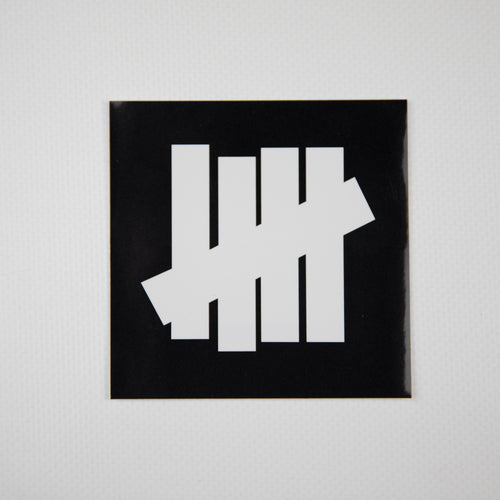 Undefeated Logo Sticker Black (MINT)