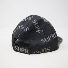 Supreme 3M Reflective Repeat Cap Black (USED)