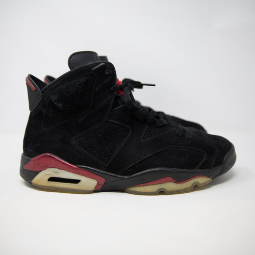 Nike Air Jordan 6 Black / Varsity Red (UK11 / USED)