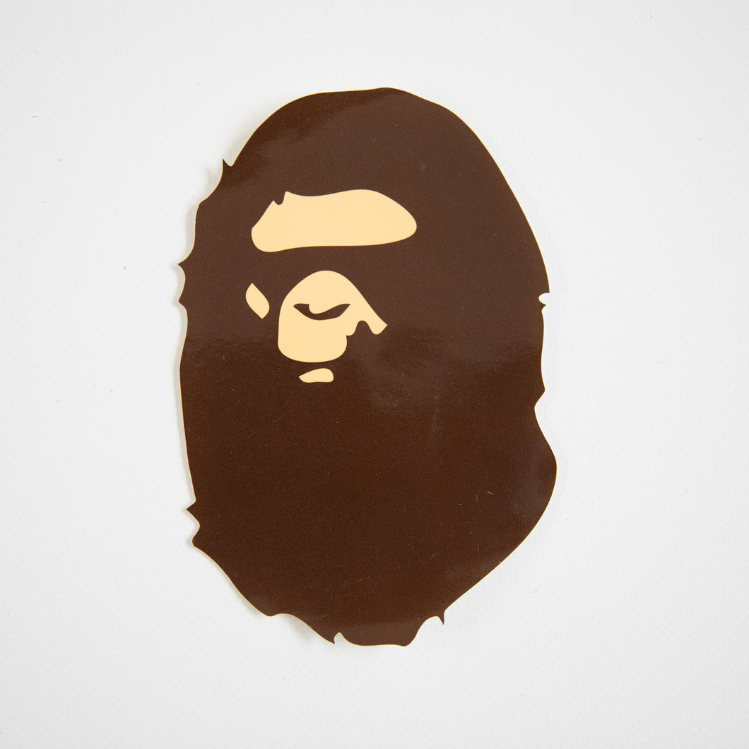 Bape Big Ape Head Sticker (MINT)
