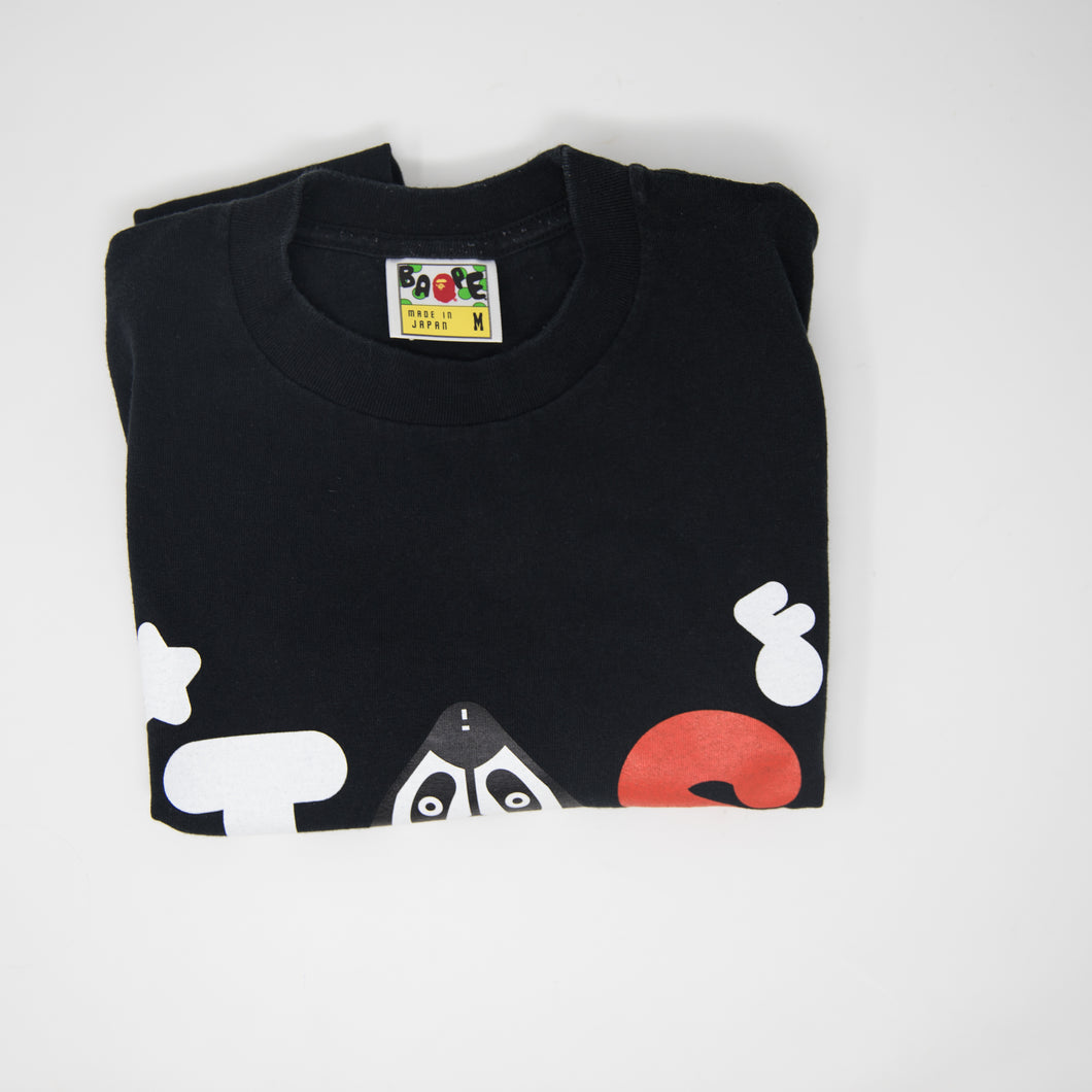 Bape Teriyaki Source Black Tee (Medium / USED)