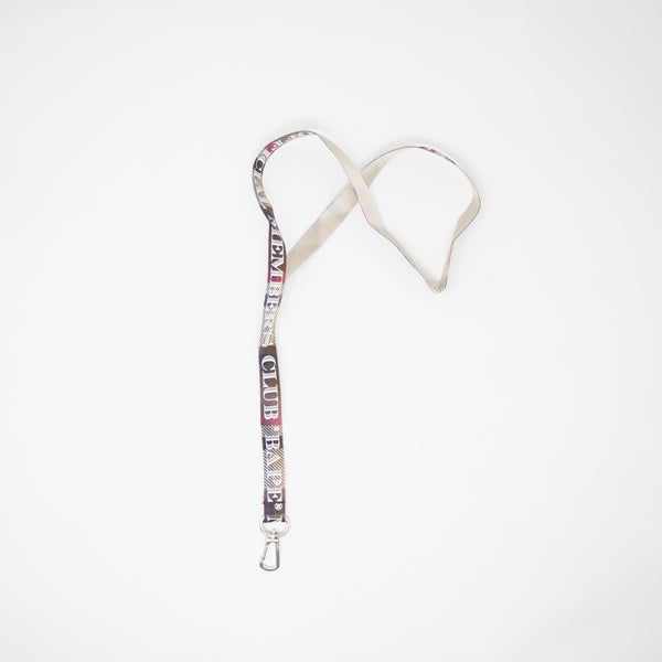 Bape Members Club Checkered Lanyard (NEW)