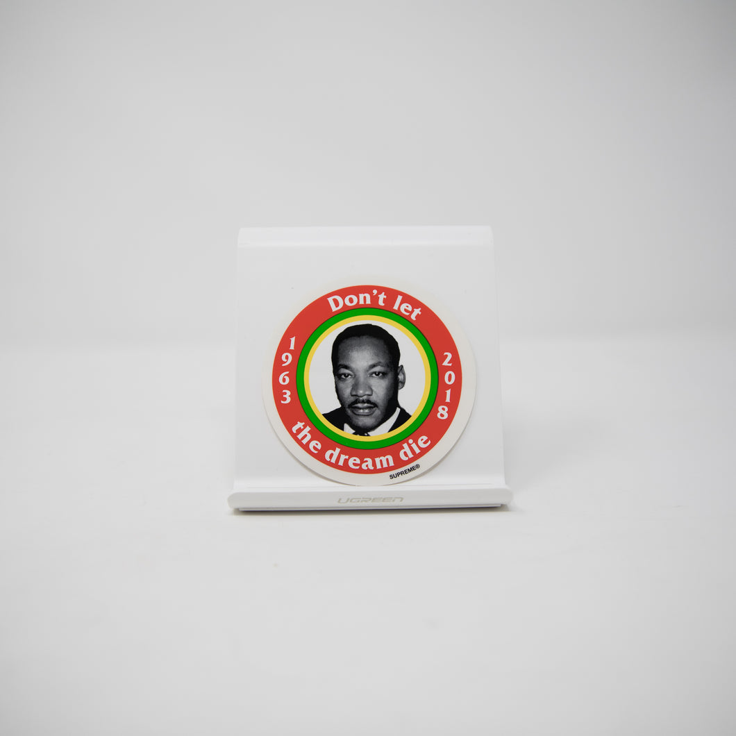 Supreme MLK Dream Red Sticker (MINT)