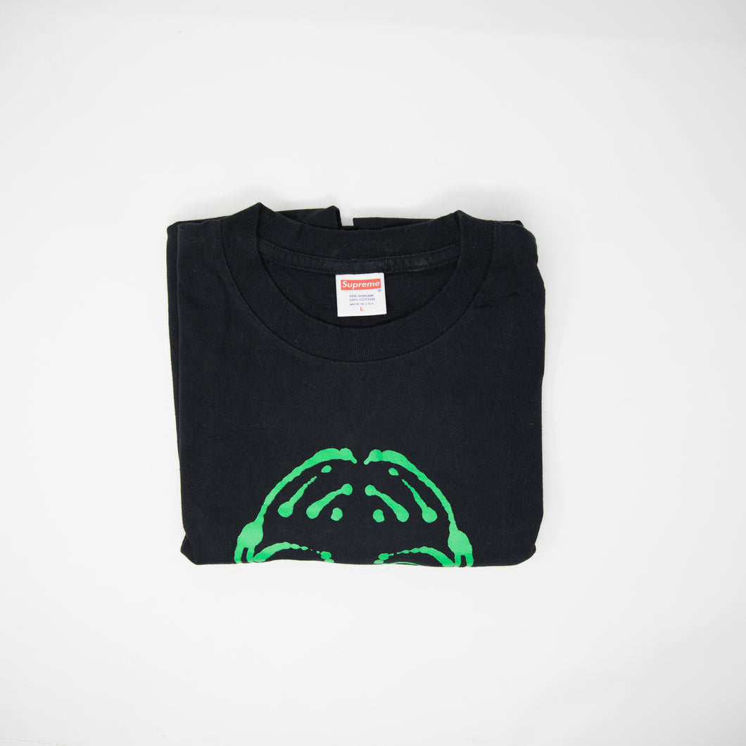 Supreme Scream Tee Black (Large / USED)
