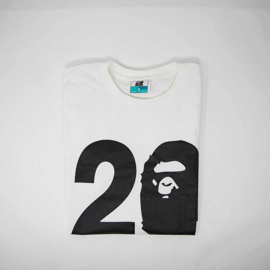 Bape NW20 Designs Tee (Small / USED)