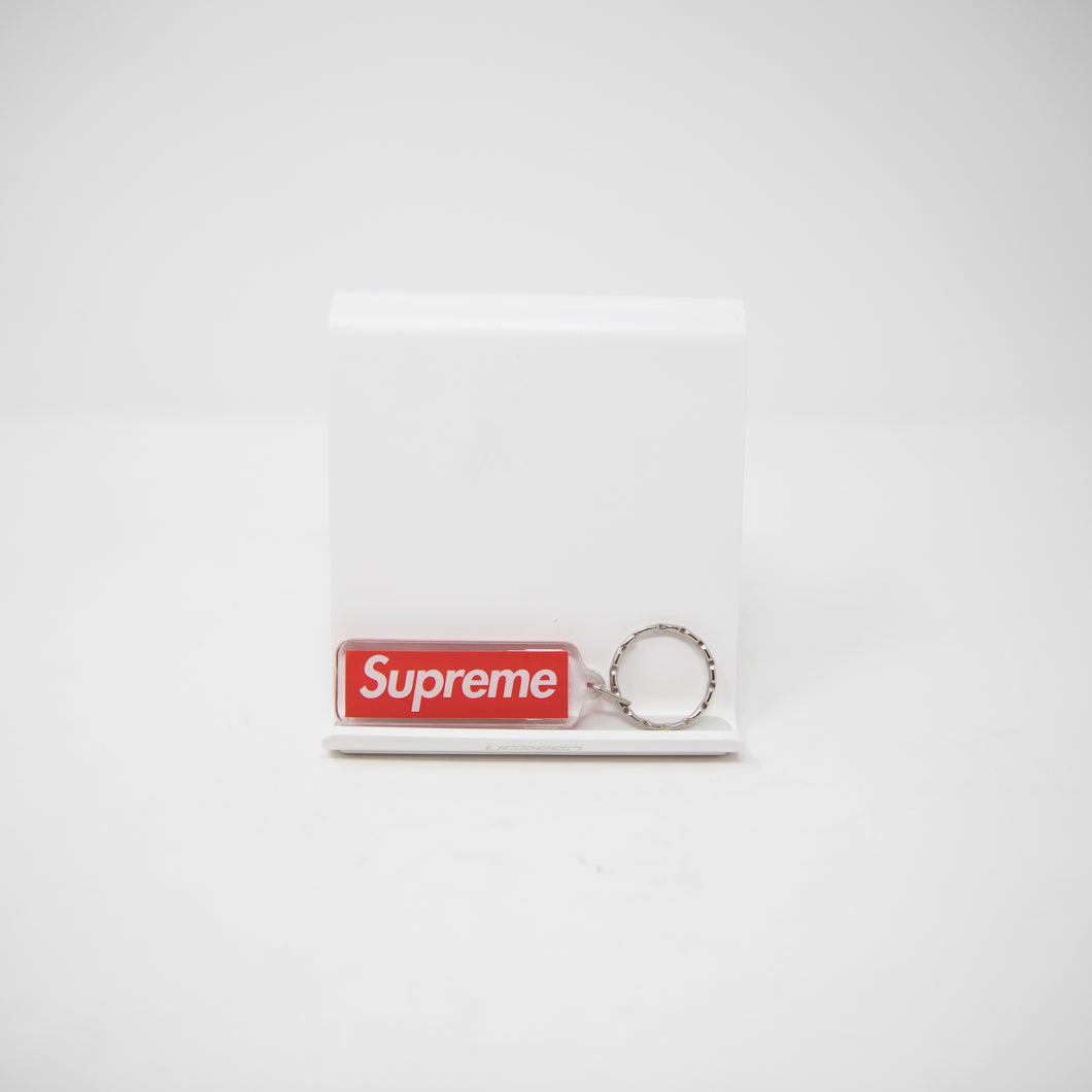 ed203db095f3 Supreme Box Logo Keychain Red (MINT) – Famous Grail