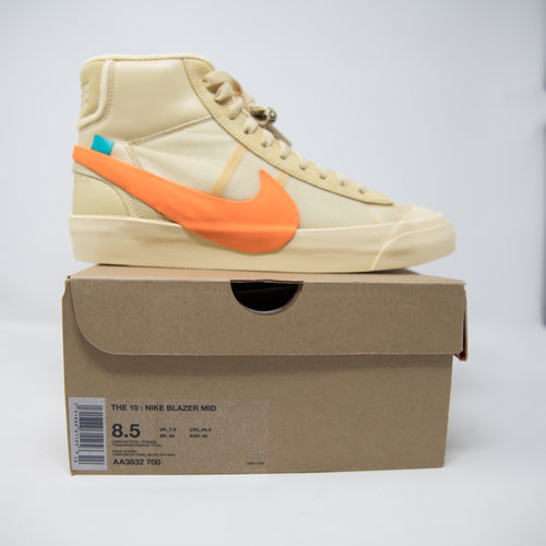 Off White x Nike Blazer Mid All Hallow's Eve (UK7.5 / NEW)