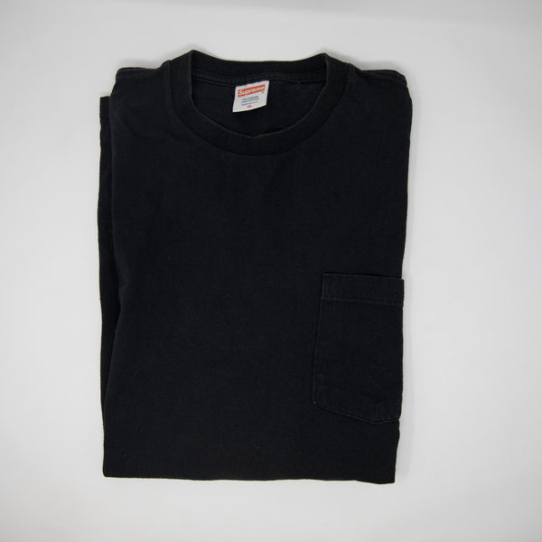 Supreme Dondi Tee Pocket Black (XL / USED